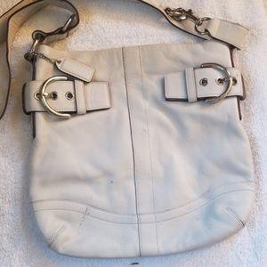 Off white coach bag